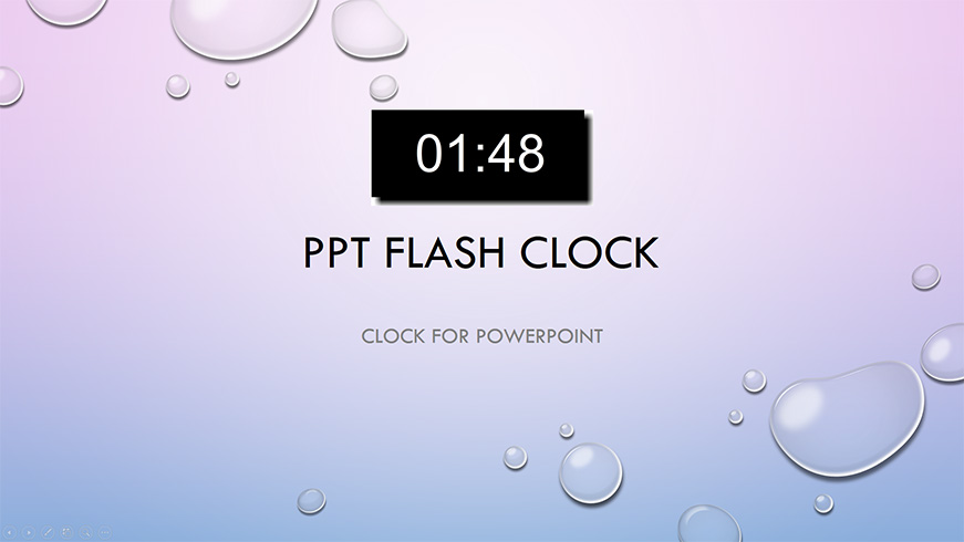Clock for PowerPoint for Windows