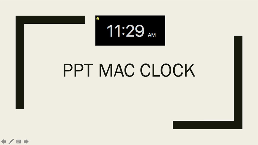 PPT Flash Clock