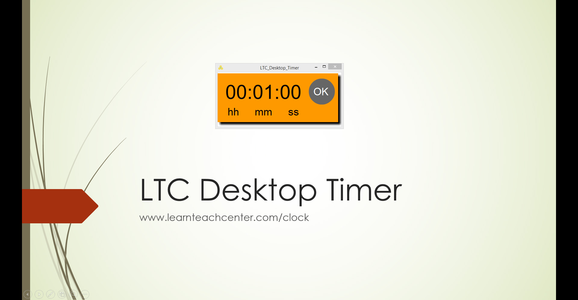 Countdown Timer for Multiple Slides