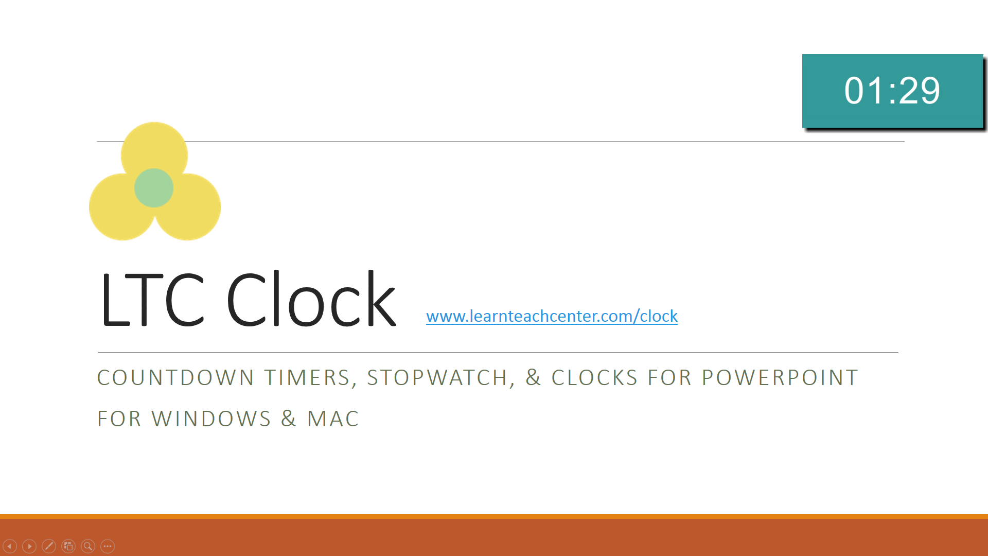 ppt flash timer tch ltc clock