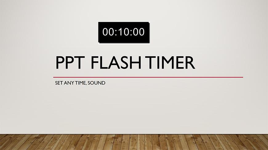 ppt flash timer ts ltc clock