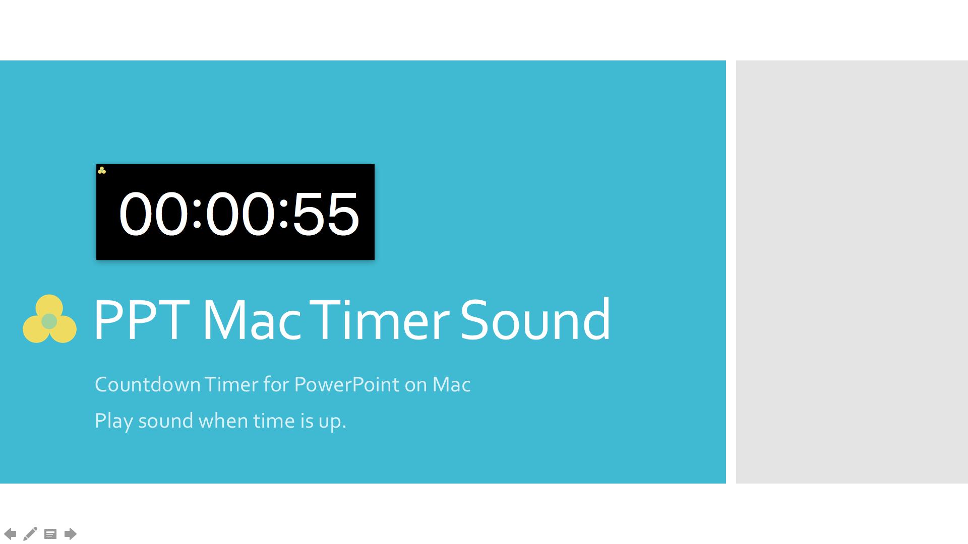 ppt mac timer sound - ltc clock, Powerpoint templates